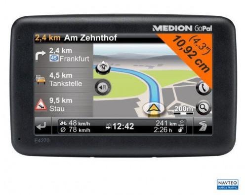 Medion GoPal E4270 Navigationssystem um 55 € - bis zu 53% sparen
