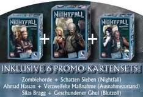Pegasus Spiele Nightfall Komplettbundle für 19,49 € - 57% sparen