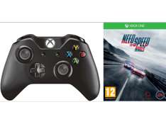 Xbox One Wireless Controller + Need for Speed: Rivals um 50 € - 47% sparen