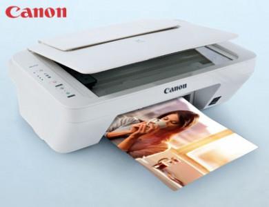Multifunktions-Tintenstrahldrucker Canon PIXMA MG2555 in weiß um 39,99 € - bis zu 43% sparen