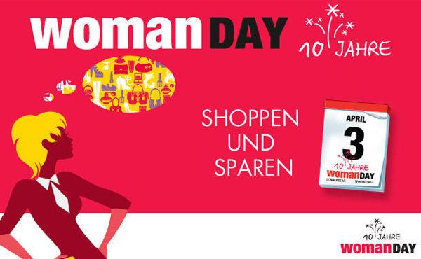 Woman Day April 2014 – Alle Gutscheine und Aktionen im Überblick