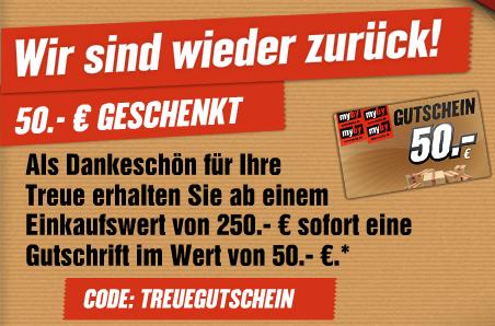 MyBy ist wieder online - 50€ Gutschein wurde verlängert *UPDATE*