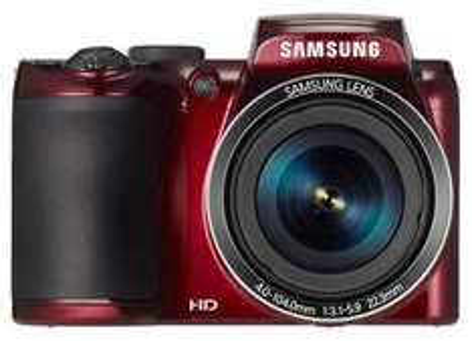 Samsung WB 110 Ultra Zoom Kamera in rot um 119 € - 18% sparen