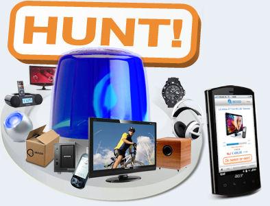 iBOOD Hunt am 10. + 11. Juli mit ständig wechselnden Produkten in geringen Stückzahlen