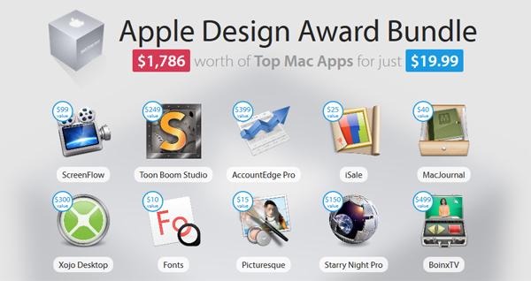 Apple Software Bundle mit 11 Programmen für 15 € statt 1300 €