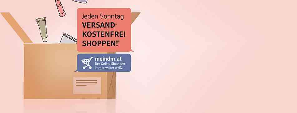 dm drogeriemarkt jeden sonntag im oktober kostenloser versand. Black Bedroom Furniture Sets. Home Design Ideas