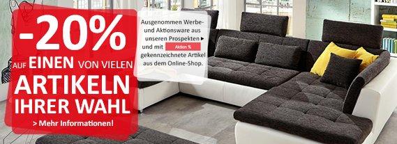 kika 20 auf einen von vielen artikeln ihrer wahl preisj ger at. Black Bedroom Furniture Sets. Home Design Ideas
