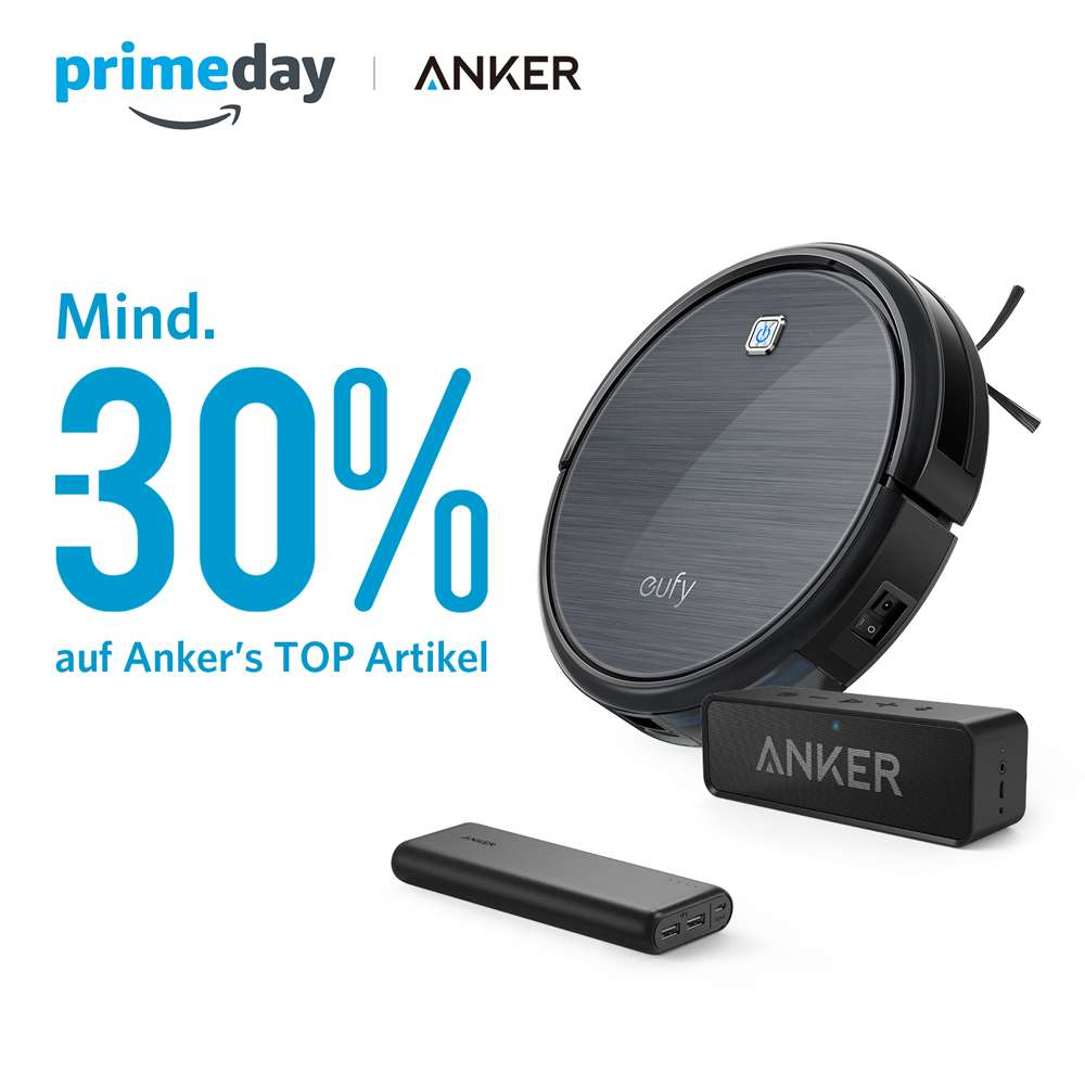 anker prime day angebote zb anker powercore. Black Bedroom Furniture Sets. Home Design Ideas