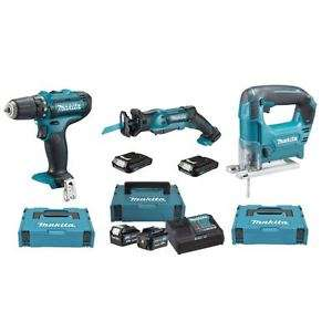 makita 10 8v set akkuschrauber stichs ge s bels ge f r 199. Black Bedroom Furniture Sets. Home Design Ideas