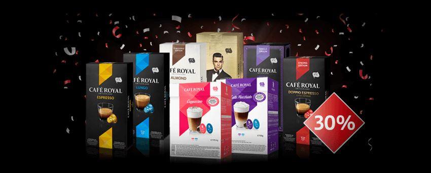 caf royal 30 auf das ganze caf royal onlineshop sortiment bis 6 august preisj ger at. Black Bedroom Furniture Sets. Home Design Ideas