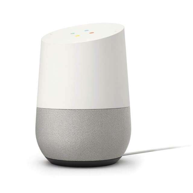 google home lautsprecher mit sprachsteuerung f r 128 44 statt 149 preisj ger at. Black Bedroom Furniture Sets. Home Design Ideas