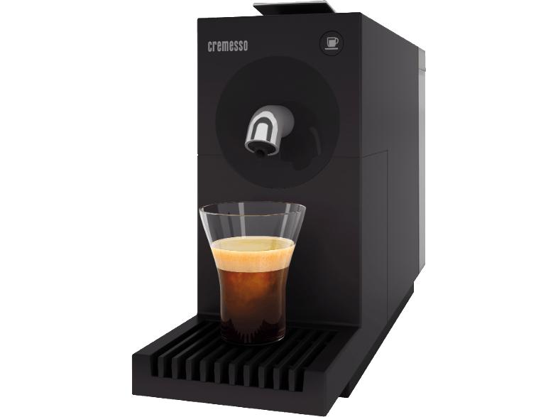 cremesso uno carbon black kaffee kapselmaschine um 15. Black Bedroom Furniture Sets. Home Design Ideas