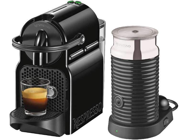 nespresso inissia milk en 80 bae black inkl 30 euro gutschein preisj ger at. Black Bedroom Furniture Sets. Home Design Ideas