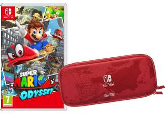 super mario odyssey tasche schutzfolie nintendo switch. Black Bedroom Furniture Sets. Home Design Ideas