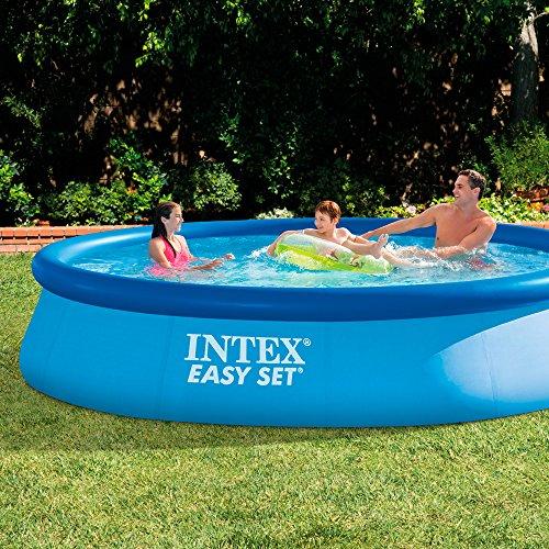 intex easy set swimming pool 396x84x74cm ohne pumpe preisj ger at. Black Bedroom Furniture Sets. Home Design Ideas