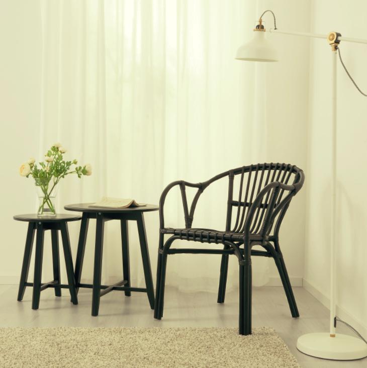 ikea rattan sessel gebraucht 2 ikea rattan sessel in. Black Bedroom Furniture Sets. Home Design Ideas