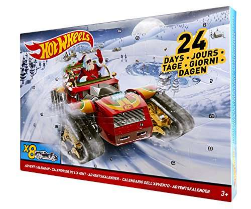 mattel hot wheels dxh60 adventskalender 2017 inklusiv 8 fahrzeuge 9 03 euro bei amazon. Black Bedroom Furniture Sets. Home Design Ideas