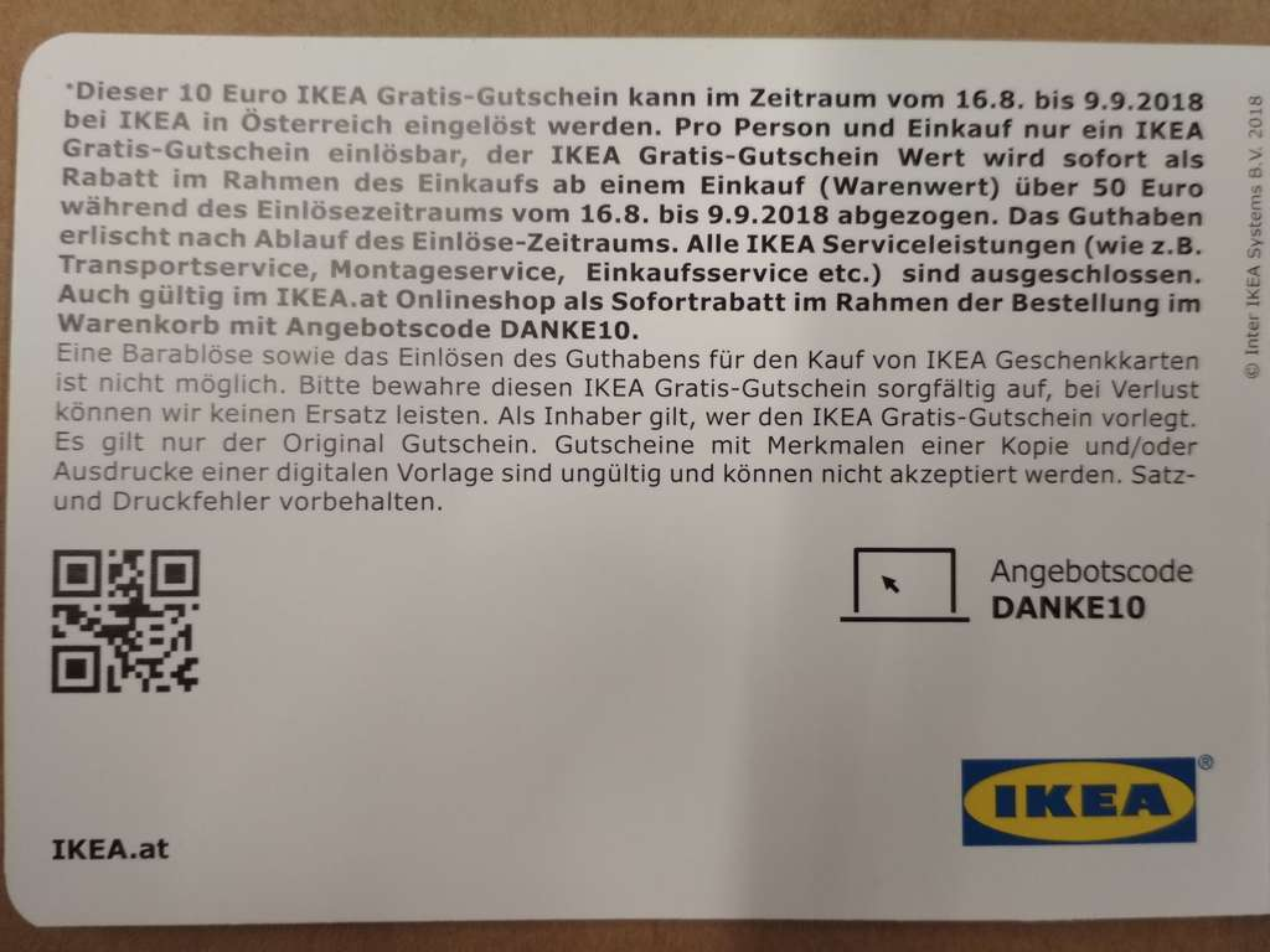 Ikea 10 Gutschein Bei Einkauf Von 50 Preisjäger