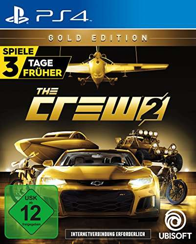 ps4 the crew 2 gold edition inkl season. Black Bedroom Furniture Sets. Home Design Ideas