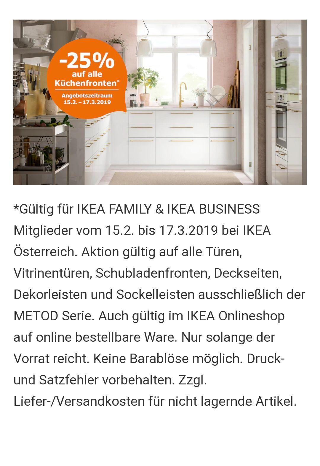 Ikea Küchen Aktion 25 Auf Alle Fronten Preisjäger