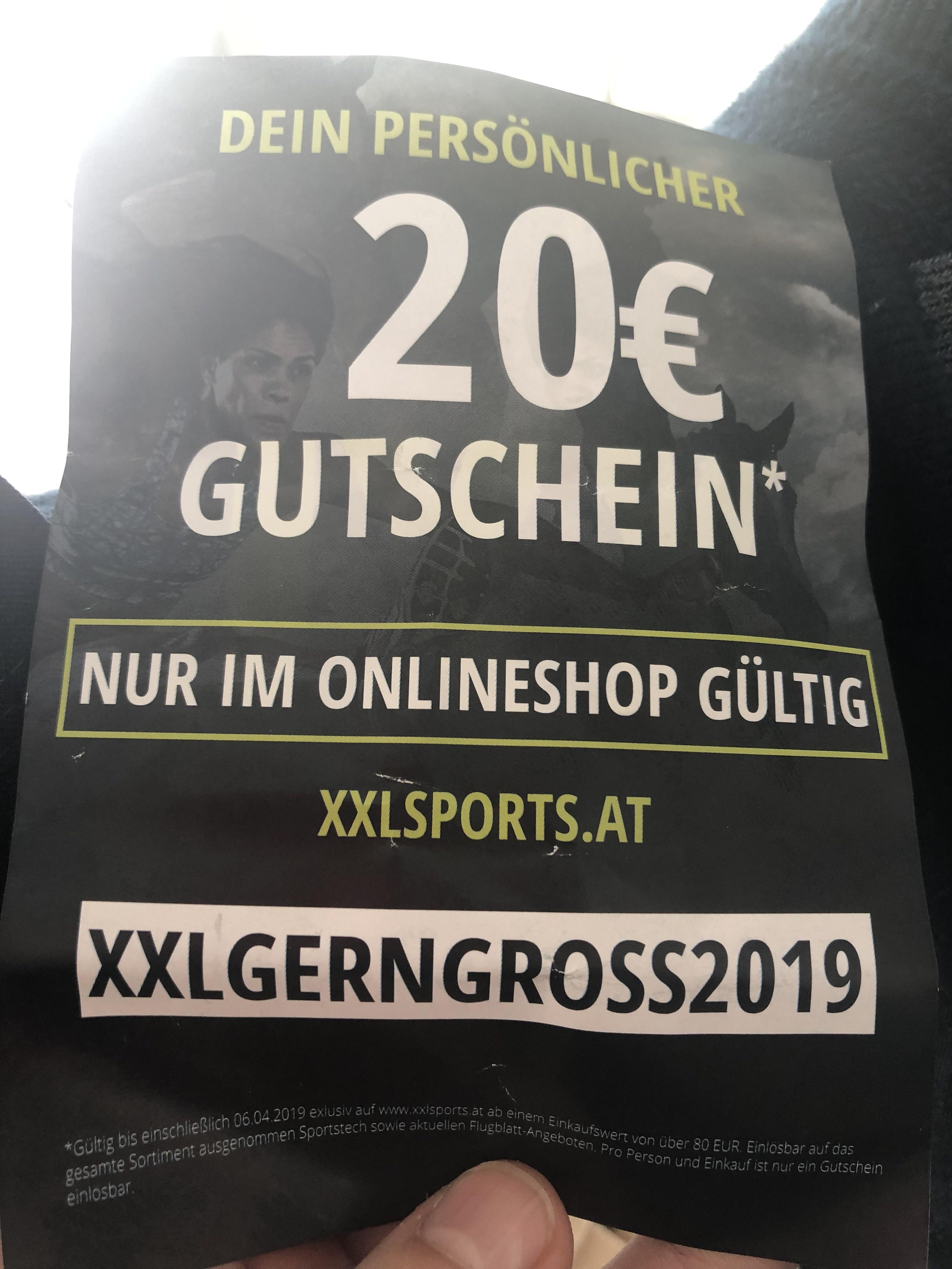 Gutschein Bei Xxl Sports Preisjäger