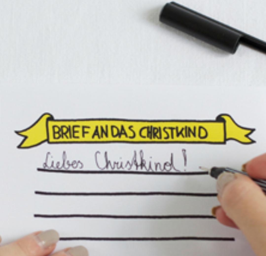 Kostenlose Vorlage Fur Einen Brief An Das Christkind Preisjager