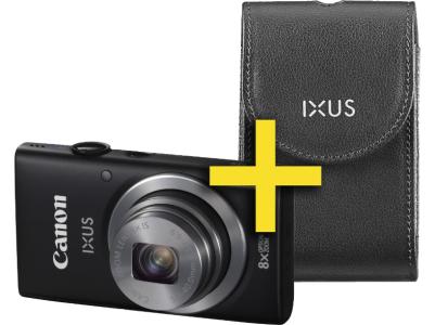 """Canon Digital Ixus 135 (2,7"""", 16 MP, WLAN-fähig, GPS-fähig) inkl Ledertasche um 88 € - bis zu 27% sparen"""