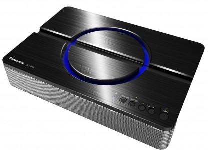 Panasonic Bluetooth Lautsprecher (2.1, NFC, USB) mit Tablet-Dock um 75,57 € - 33% Ersparnis