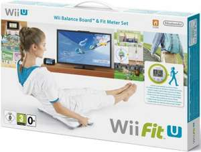 Wii Fit U für Nintendo Wii U - inkl. Balance Board und Fit Meter um 50 € - 38% sparen