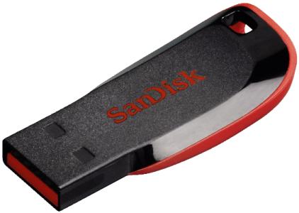 SanDisk Cruzer Blade USB 2.0 Stick (32 GB) um 9 € - bis zu 44% sparen