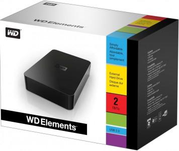 Western Digital - externe Festplatte (2 TB, 3,5 Zoll, USB 2.0) um 69 € - bis zu 27% sparen