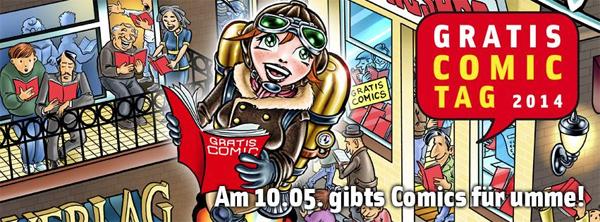Gratis Comic Tag 2014 – Comics auch online bestellen - am 10. Mai 2014!