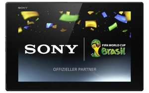 Sony Xperia Tablet Z2 (16 GB, WLAN, LTE) für 511 € bei Amazon UK - 21% Ersparnis