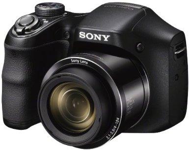 Digitalkamera Sony DSC-H200 (20MP, 26 x Zoom, FullHD) für 122,27 € - 25% sparen