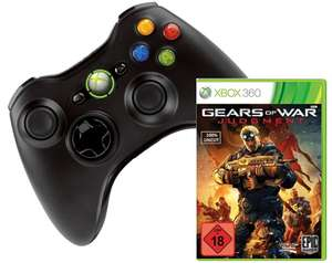 Xbox 360 Wireless Controller + Gears of War: Judgment für 27,97 €