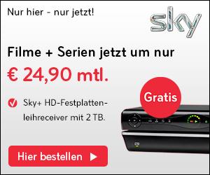 Sky Oster-Special: 24 Monate Sky Komplett + Sky Go + 2TB HD-Receiver + 12 Monate HD für 39,90 €/Monat