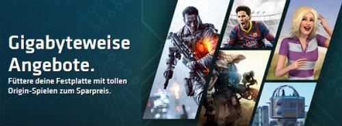 Sale bei EA Origin mit bis zu 50% Rabatt auf ausgewählte Spiele