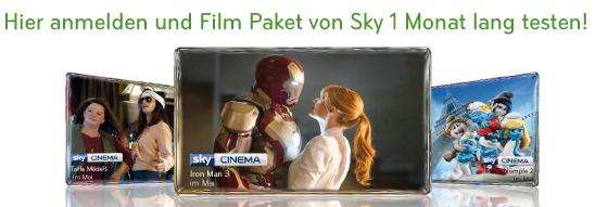 A1 TV: Sky Film-Paket einen Monat komplett kostenlos sehen - keine Kündigung nötig