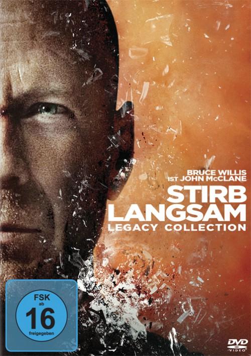 Saturn Österreich: Stirb Langsam 1-5 (Blu-ray) für 20 €