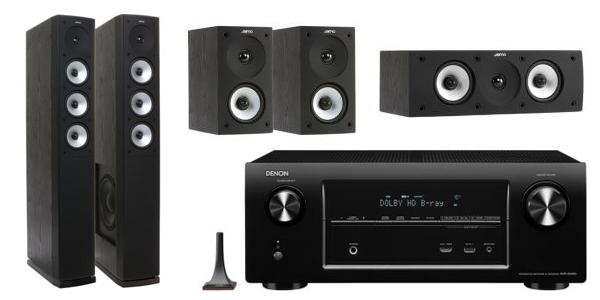 Heimkino-Bundle: Denon AVR-X2000 + Jamo S 628 HCS ab 899 € - bis zu 22% sparen
