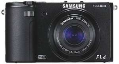 Digitale Kompaktkamera Samsung EX2F (12,4 MP, WLAN) ab 199 € - bis zu 21% Ersparnis