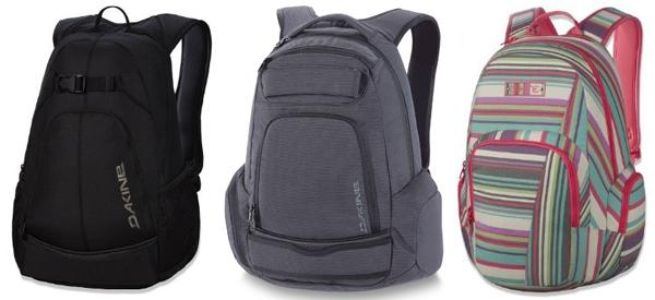 Amazon: Dakine-Rucksäcke mit bis zu 45% Rabatt kaufen