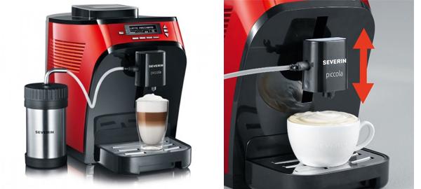 Kaffeevollautomat Severin KV8062 Piccola Premium für 299 € - 30% sparen
