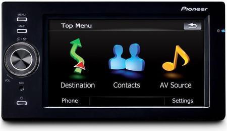 Pioneer AVIC-F500BT Hybrid-Navigationssystem Europa für 300€