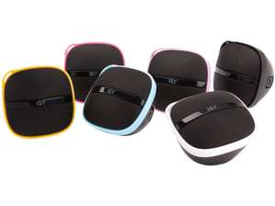 Tragbarer Mini-Lautsprecher ISY IMS-2000 um 1 € - 93% sparen