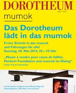 Gratis Eintritt ins Wiener Mumok im Museumsquartier am 18.Mai 2014 zwischen 10-19 Uhr