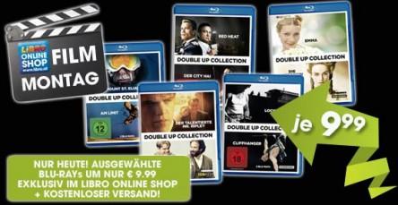 Ausgewählte Double-Up Collection Blu-Rays um 9,99 € - bis zu 8,96 € pro Film sparen