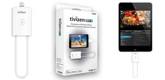 DVB-T-Empfänger iCube Tivizen pico2 für iOS ab 41,55 € - bis zu 24% sparen