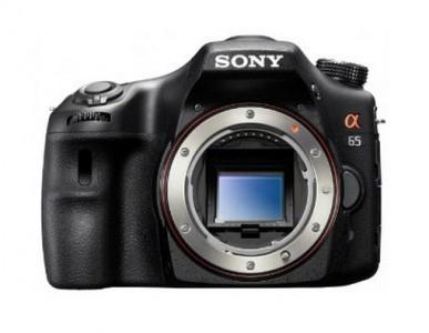 """Sony Alpha 65 DSLR-Gehäuse (24,3 MP, 3"""" Display, Full HD Video, GPS) für 429 € – bis zu 19% sparen"""