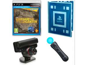 PS3 Bundle (Spiel inkl. Wonderbook, Move-Motion-Controller & Kamera) um 25 € - 51% sparen